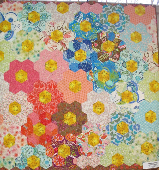 Grandmother's Flower Garden by Diana McClun and Laura Nownes.