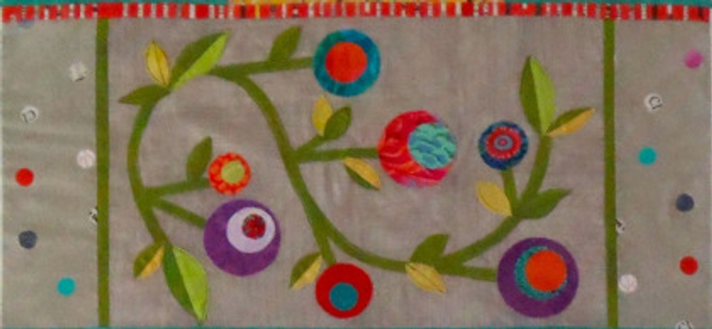 Panel 2 of See How We Sew Quilt-Along