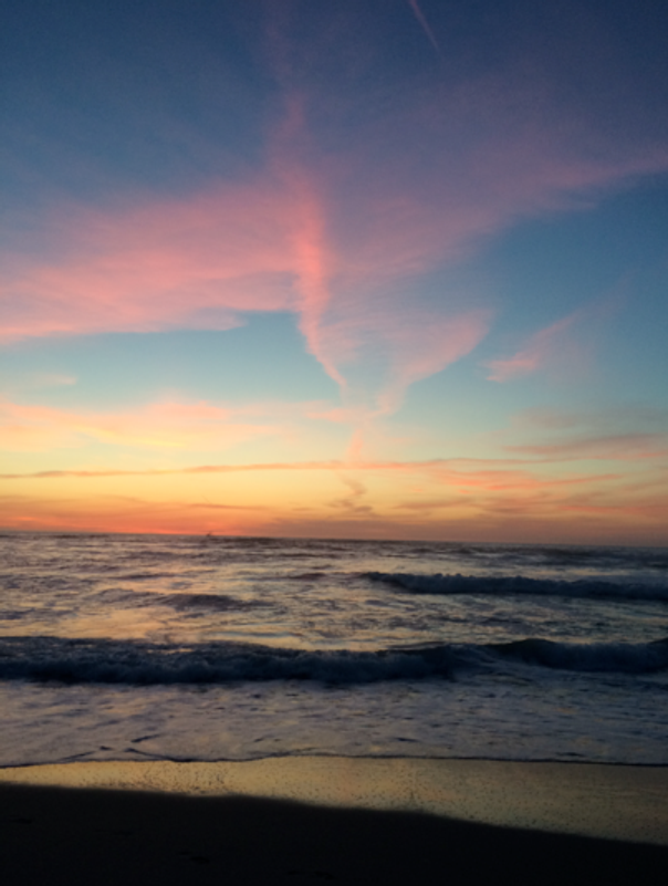 Dates & Places-J:  Sunset Pacific Grove, CA #2