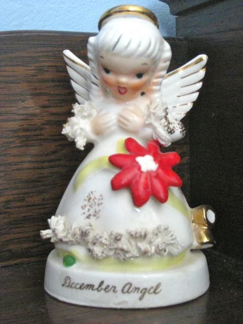 My birthday angel, a treasured childhood memento