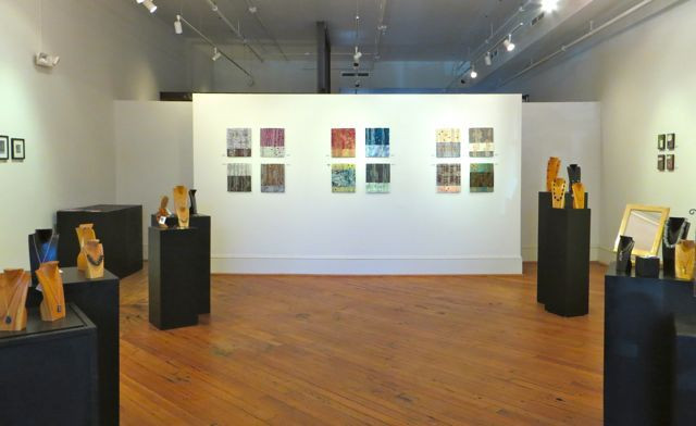 New works by my friend, Linda Smith, were part of a recent, four-woman show at The Gallery of Macon (GA) Arts Alliance.