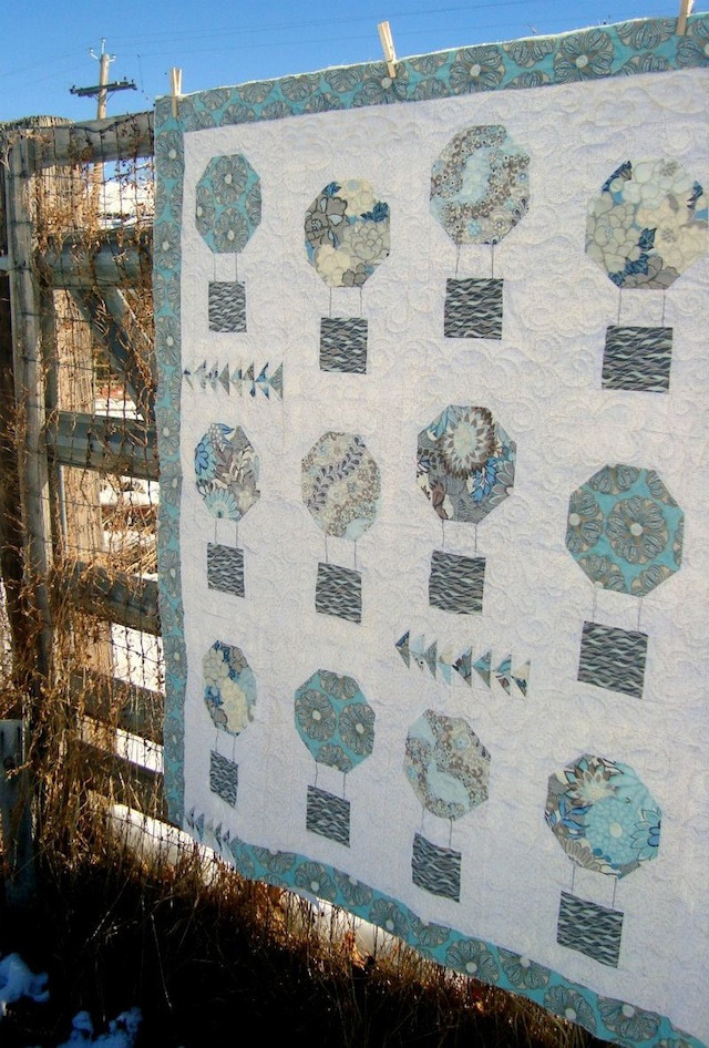 Up, Up and Away by Patchwork Posse using Tokyo Rococco.