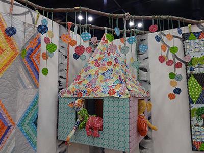 Valerie Wells booth