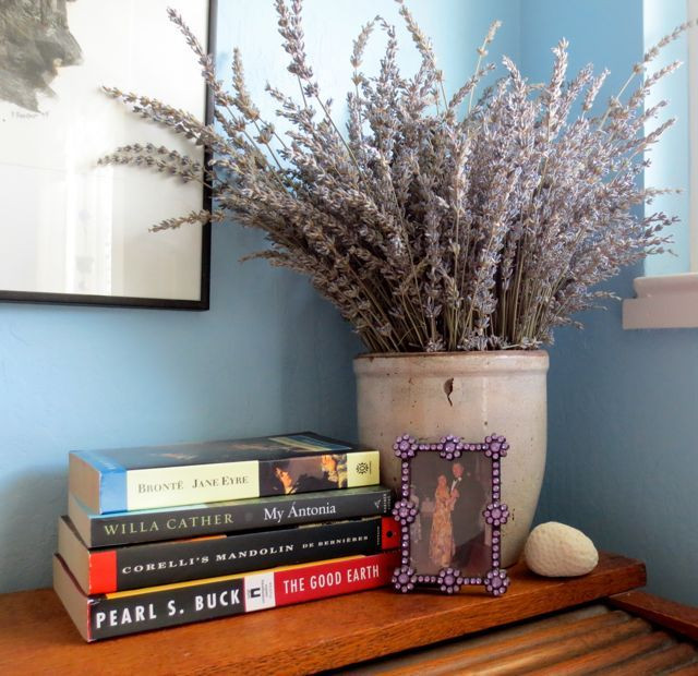 One of many lavendar bouquets to grace our home last winter