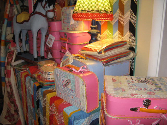 American-Jane-Pink Suitcases