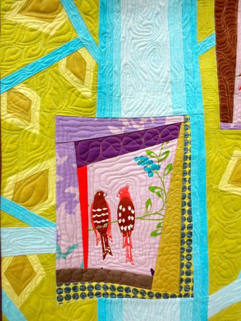 4 Birds, detail