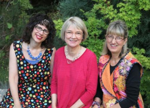 Sandra Bruce, Christine Barnes and Heidi Emmett.