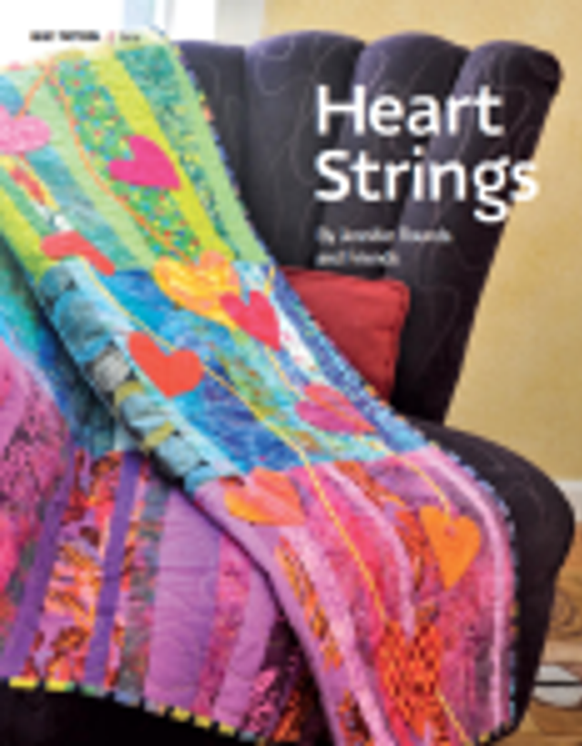 Quilt-J:  Heartstrings featured in The Quilt Life