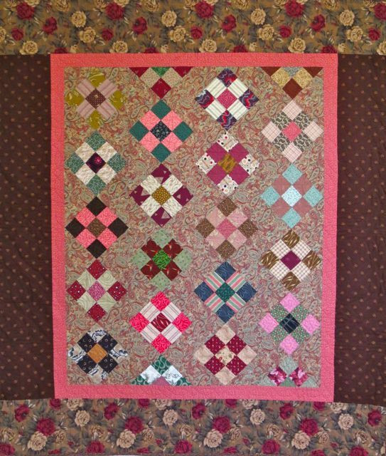 19th-Century Lullaby, pieced and hand quilted by Darra Williamson, 1994