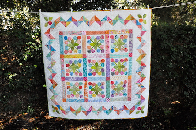 Designed and made by Alex Anderson. Machine quilted by Angela Walters.
