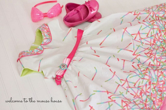 Caroline Dress by Welcome to the Mouse House using Pop Rox.