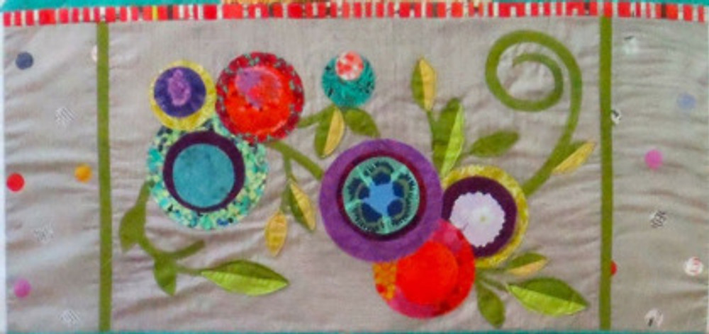 Panel 4 of See How We Sew Quilt-Along