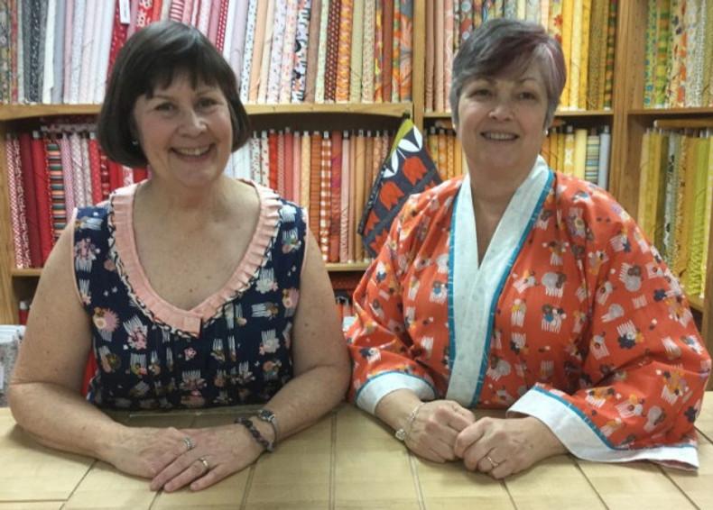 Laura and Pati - Pajama night