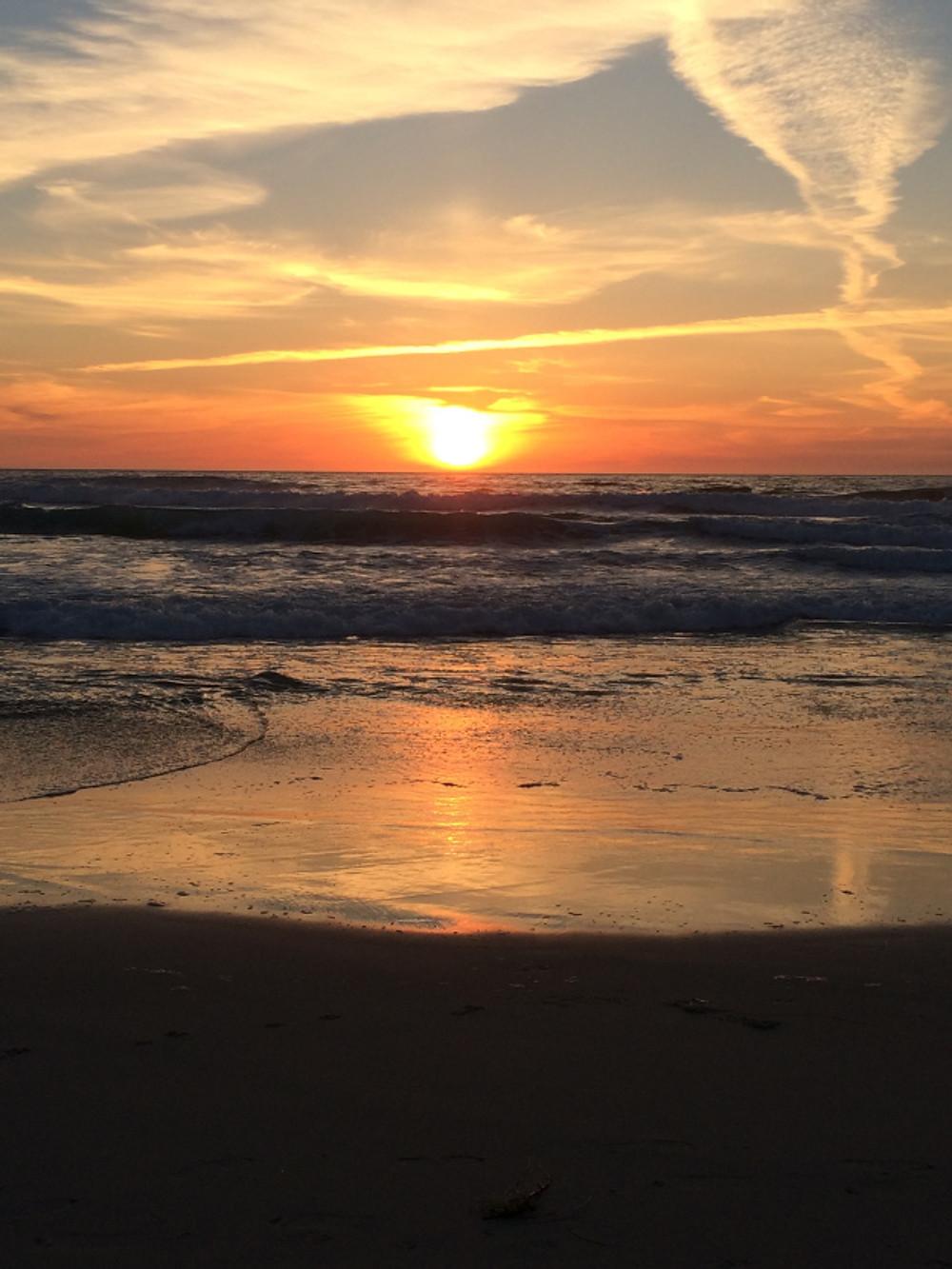 Asilomar Sunset; photo by Jennifer Rounds