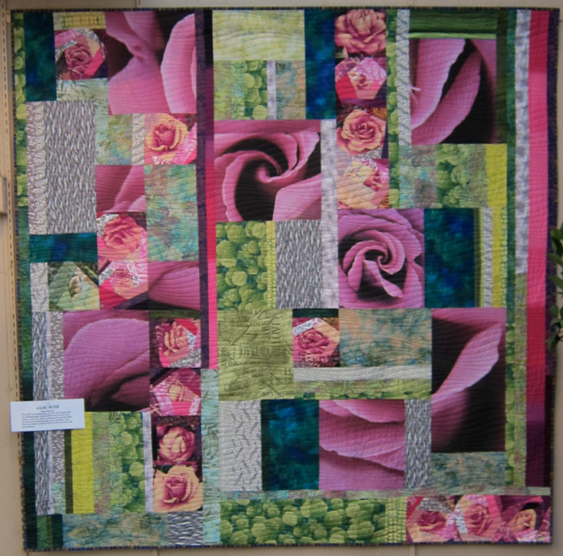 Here's a sneak peak at Diana McClun's latest quilt making exploration--check back Friday for more.