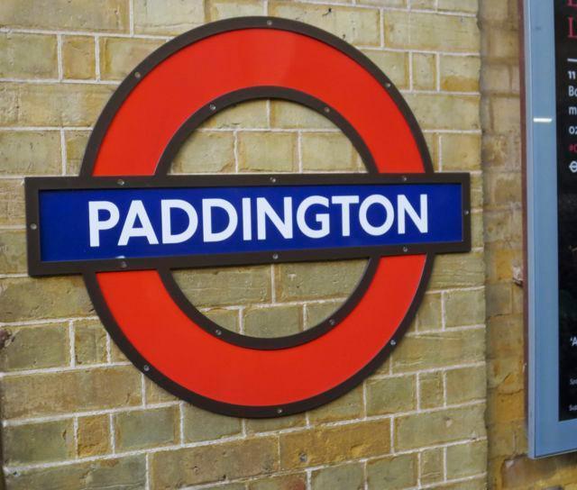 Off to London, via Paddington Station!
