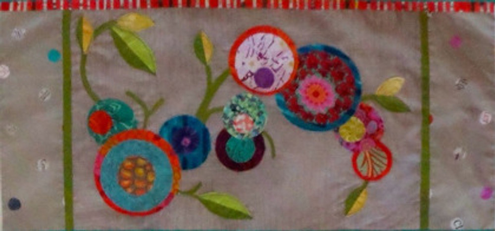 Panel 3 of See How We Sew Quilt-Along