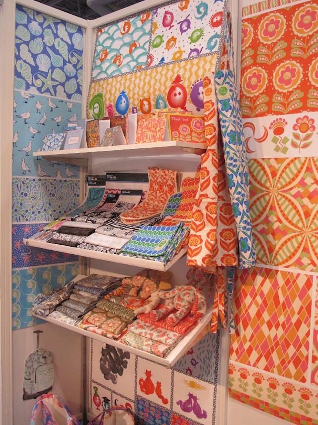 Licensed products using the designs of Carol van Zandt.