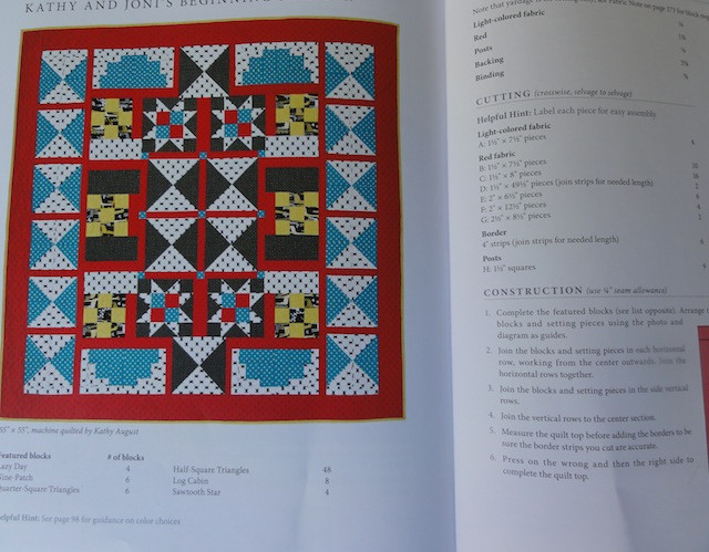 Beginning Sampler by Kathy August and Joni Tembreull.