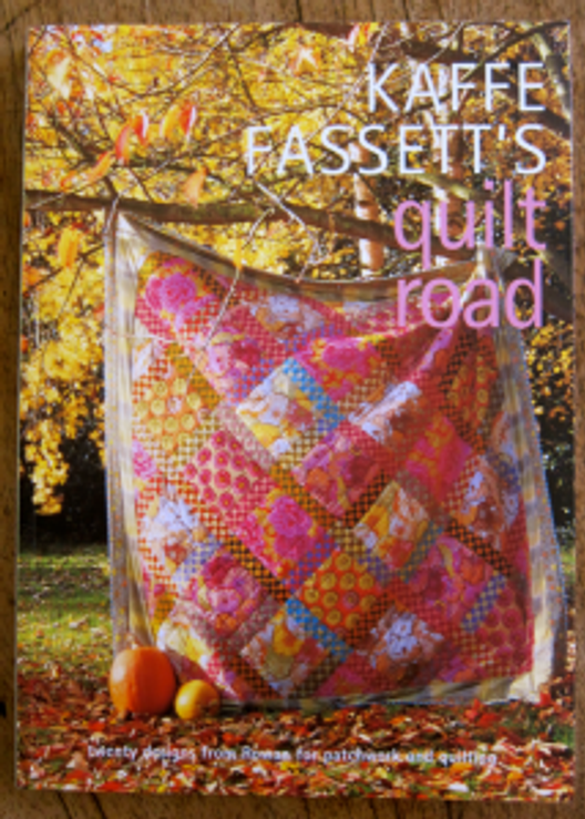 Book-J:  Kaffe Fassett's Quilt Road