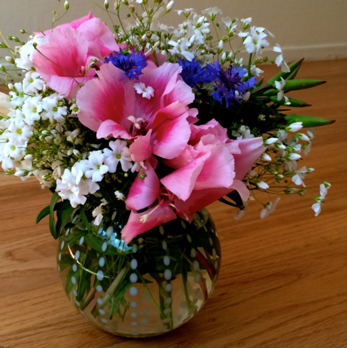 Inspiration-J:  Summer Flowers