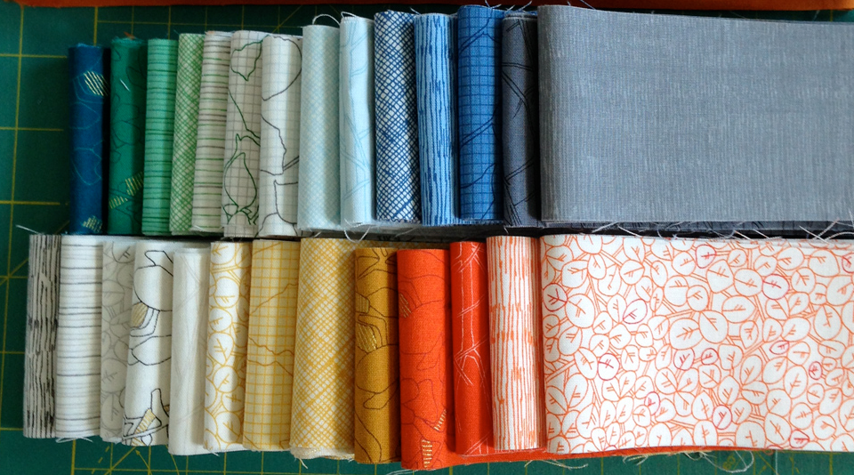 Fabric-J:  Carolyn Friedlander's fabrics