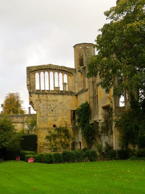 Medieval ruins on the site of Sudeley