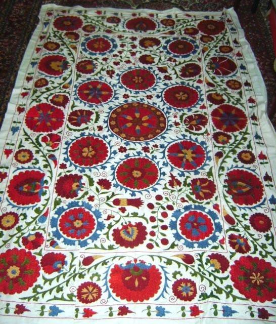 Suzani Embroidery WallHanging