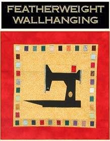 Christine Thresh's Featherweight Wallhanging
