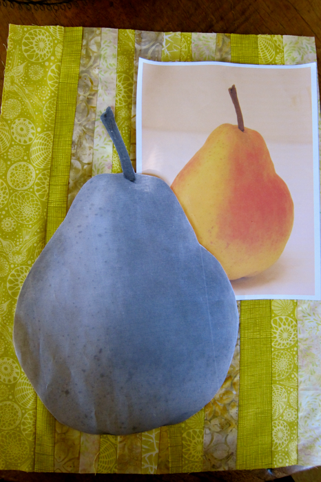 Project-J:  Pattern pieces for pear project