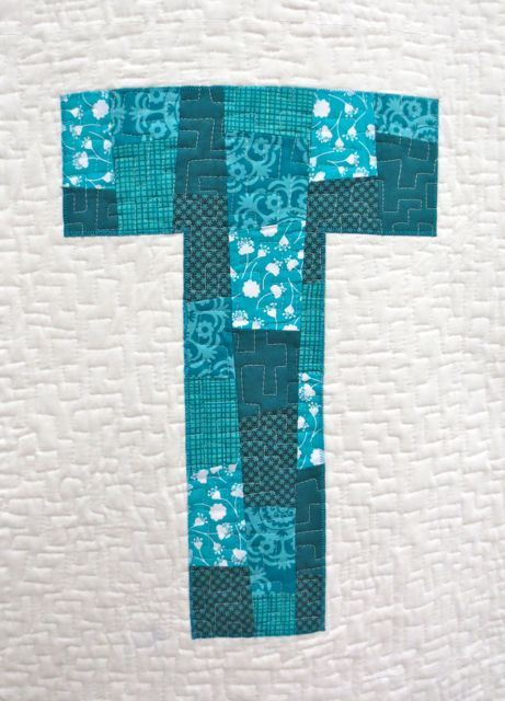 Touch This Quilt, detail