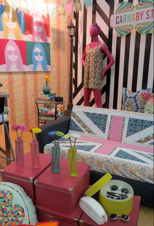 Feeling groovy? Welcome to Spring Quilt Market 2013!