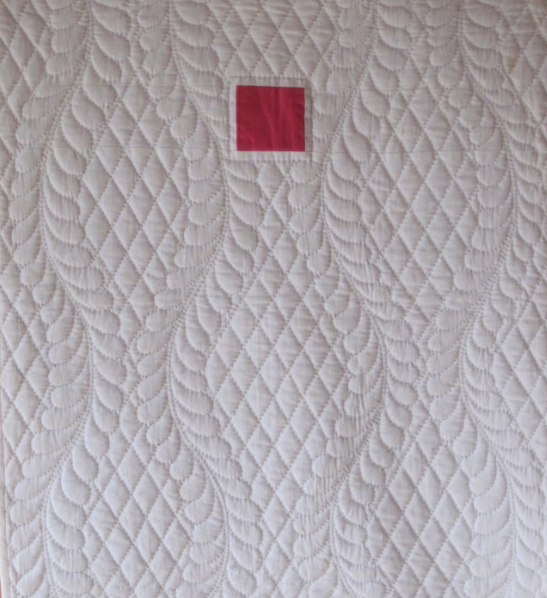 Quilt-J:  Gwen Marston's Quilt One-Patch from Minimal Quiltmaking