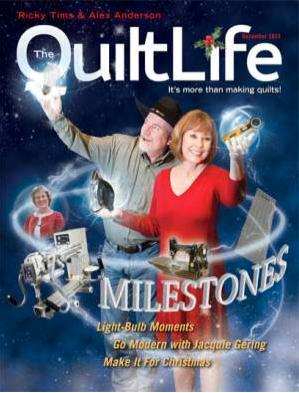 Pattern-J: December 2013 Quilt Life