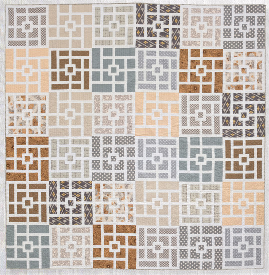 Quilt-J:  Amy Ellis's Whispered Lace