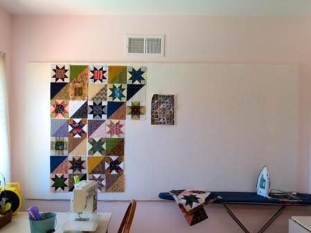 Sprucing Up Your Sewing Space: A Design Wall Dream Come True!