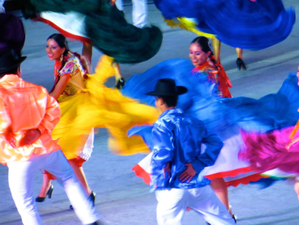 Dates & Places-J:  Cyndy Rymer in Oaxaca