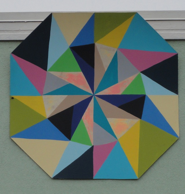 This beautiful design was hanging above a store front in Calistoga, CA.