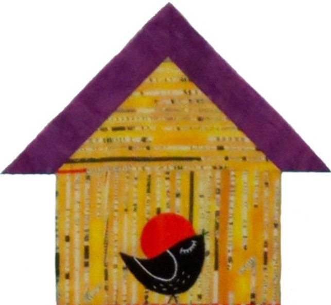 Birdhouse from See How We Sew Quilt-Along