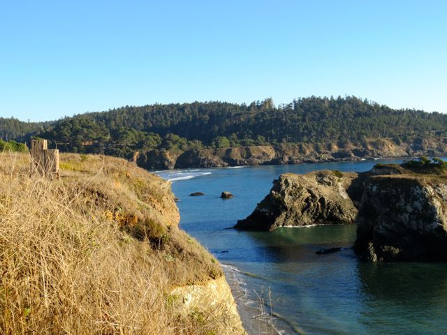 From the Mendocino headlands