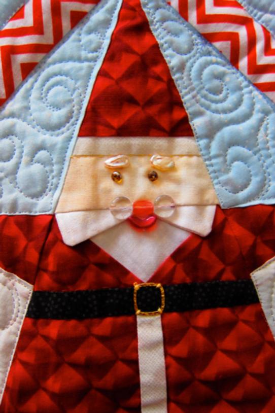 Pattern-J: Santa Smiles by Jennifer