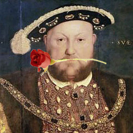 That old romantic, Henry VIII; photo courtesy of www.theanneboleynfiles.com