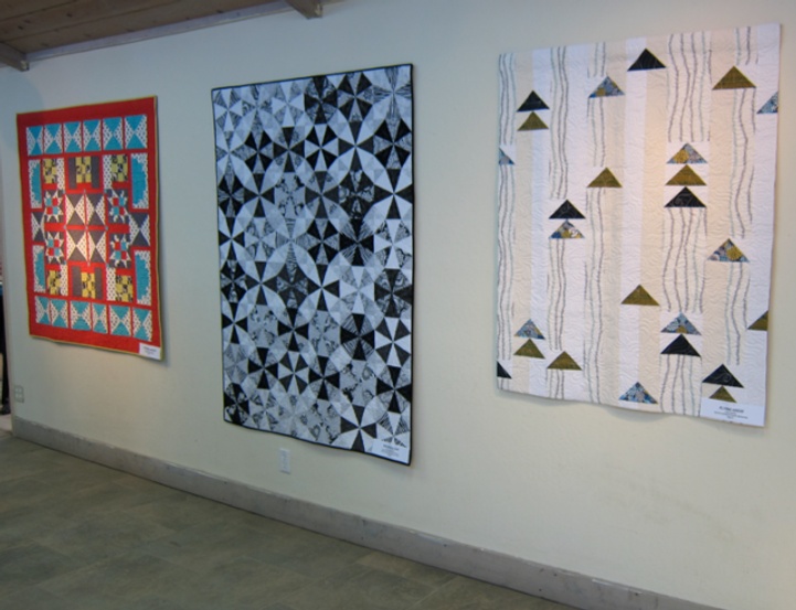 Classic blocks reset with a modern flair--tempting new quilt projects from the new Q!Q!!Q!!!