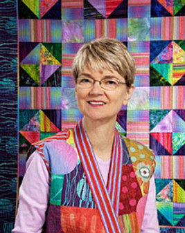 Artistic Alchemy Part 1: Quilter Christine Barnes Visits SHWS