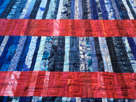 A Quilt From The Wild Blue Yonder + A Giveaway Winner