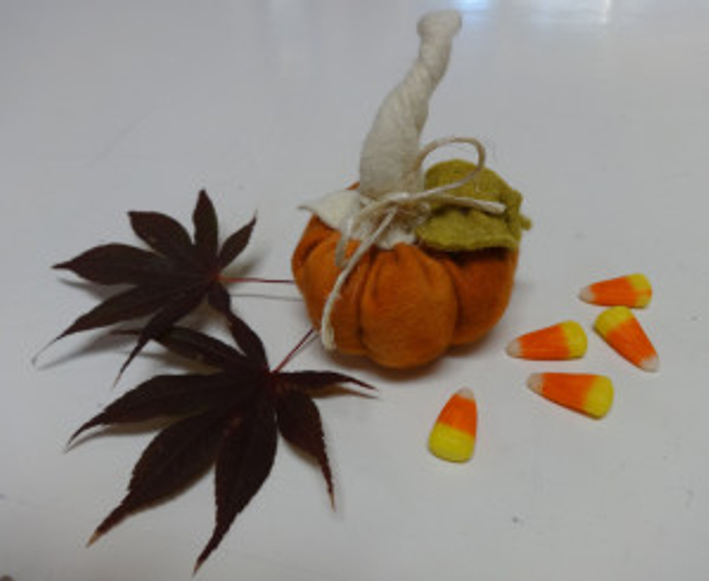 Herb scented pumpkin