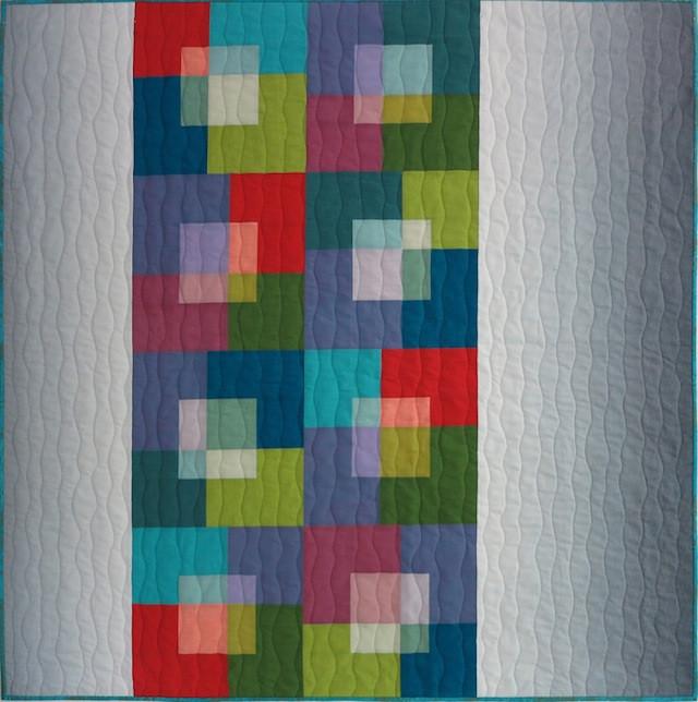 Transparent Squares by Christine Barnes