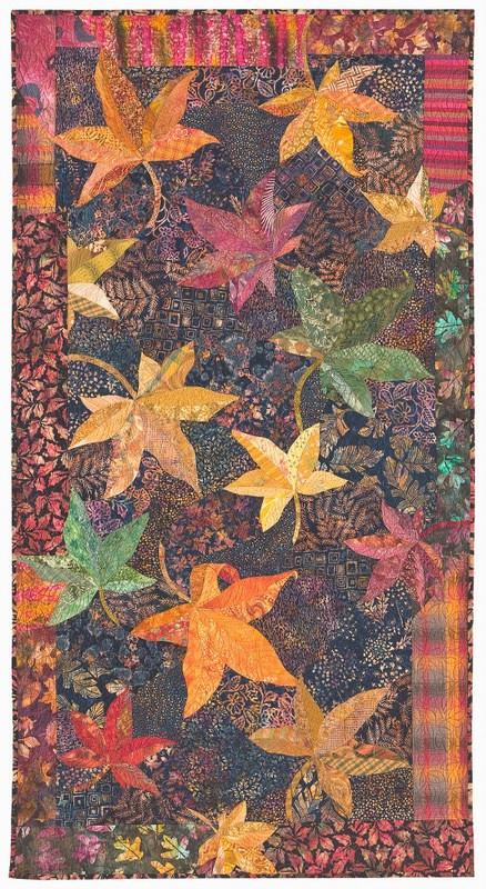 Maple Leaves by Sue Rasmussen