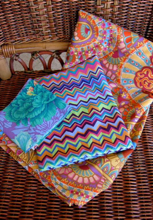 Fabric-J: Faced Binding Fabrics for Fat Quarter Quilt