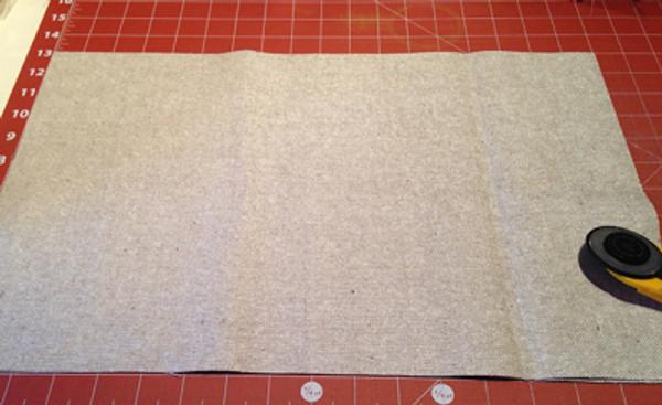 Wool Blossom Pillow - Cut Panel